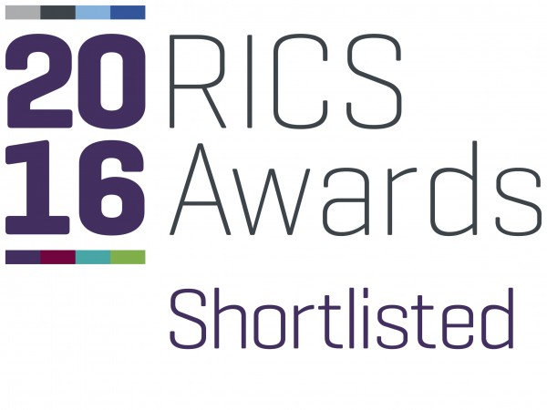 Three Projects Shortlisted in RICS Awards
