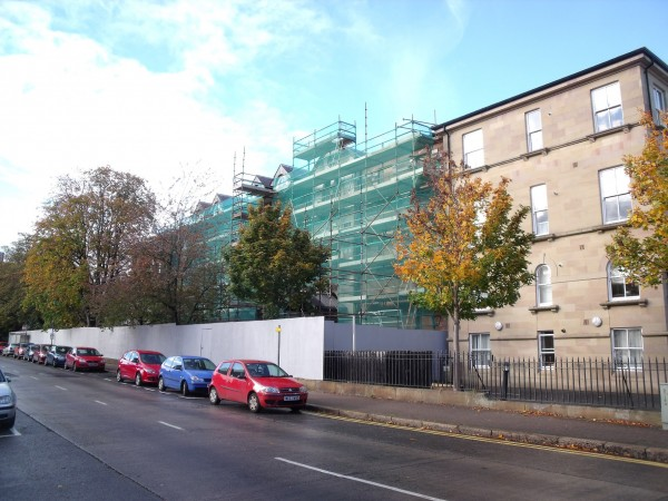 Photo 1 of Repair Work Underway at Union Theological College in Belfast