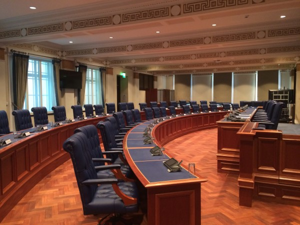 Photo 1 of Council Chamber Remodelling Project Complete