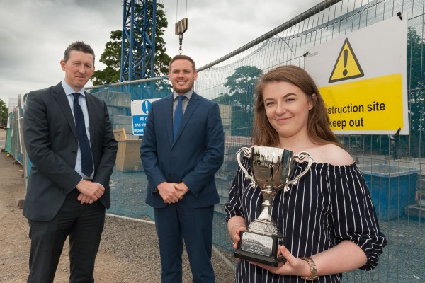 Construction Award Presented at College Ceremony